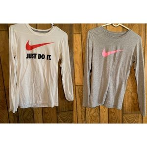 Nike long sleeve T-shirt bundle